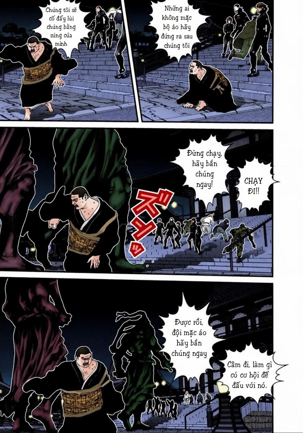 Gantz Chap 63: Bàn tay trang 8