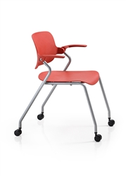 Woodstock Sha Na Na Plastic Stack Chair for Training Room