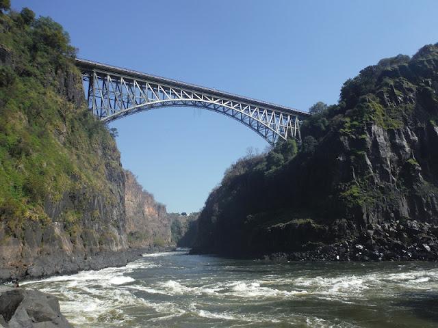 Cataratas Victoria, Vista del puente desde el Boiling Point