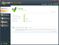 Avast! Free Antivirus - screenshot
