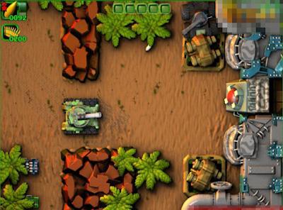 標準坦克大戰(Normal Tanks),融合坦克與過關制好玩遊戲!