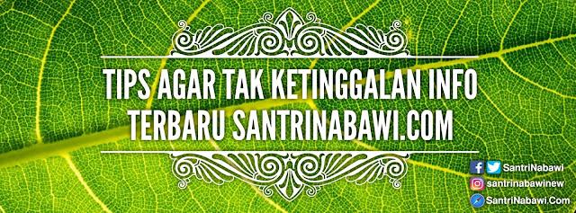 Tips Jitu Agar Tak Ketinggalan Info Terbaru Website SantriNabawi.Com