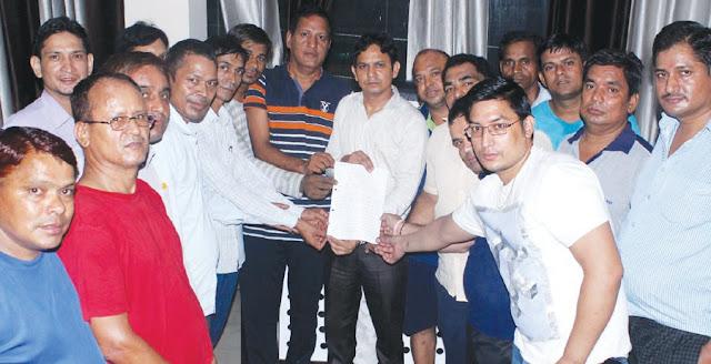 Memorandum handed over to Garhwal Sabha General Secretary Surendra Rawat for the problems