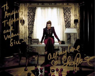 Lana Parrilla's Autograph Andrea Tiffany aglimpseofglam