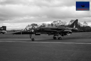 RAF SEPECAT Jaguar XX837 Bomber ground attack Cosford
