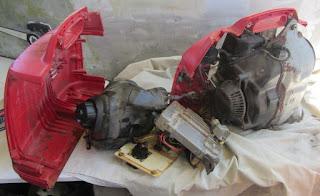 Generator - halb zerlegt