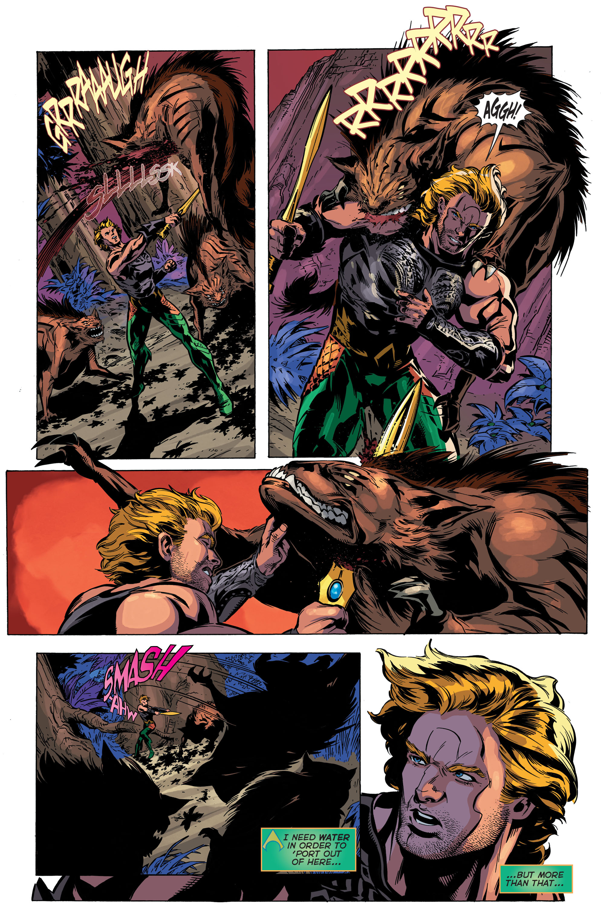 Read online Aquaman (2011) comic -  Issue #45 - 6