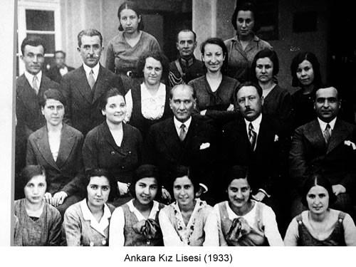 Atatürk Ankara Kız Lisesi 1933 Fotoğraf