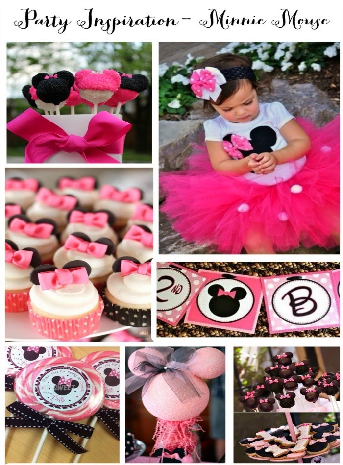Adorable Minnie Mouse First Birthday Party Theme