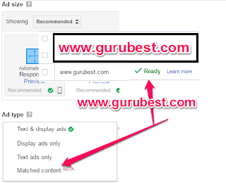 How To Add Adsense Matched Content Ads Unit On Your Blog