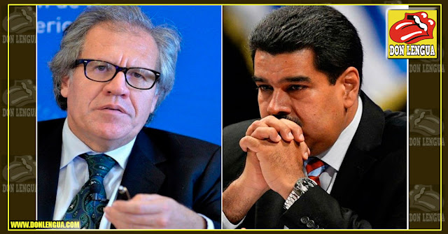 Luis Almagro acusó directamente a Maduro del secuestro de Juan Guaidó