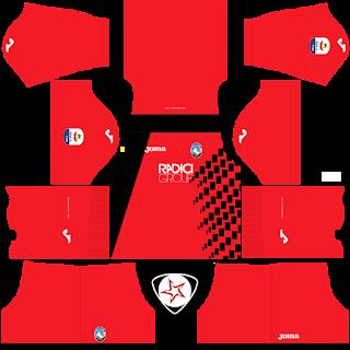 Atalanta BC 2018 - 2019 GK Home Kit