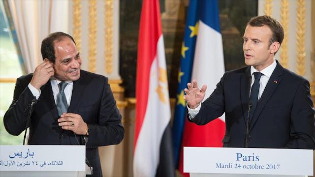"""""""Francia, cómplice de sangrienta represión de Al-Sisi en Egipto"""""""