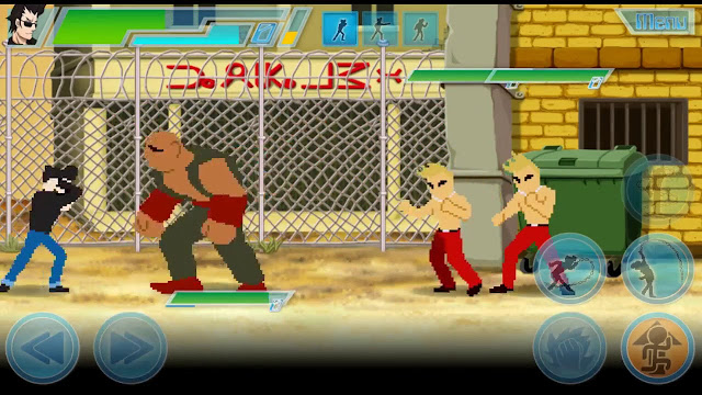 Game 8 Bit Fighters