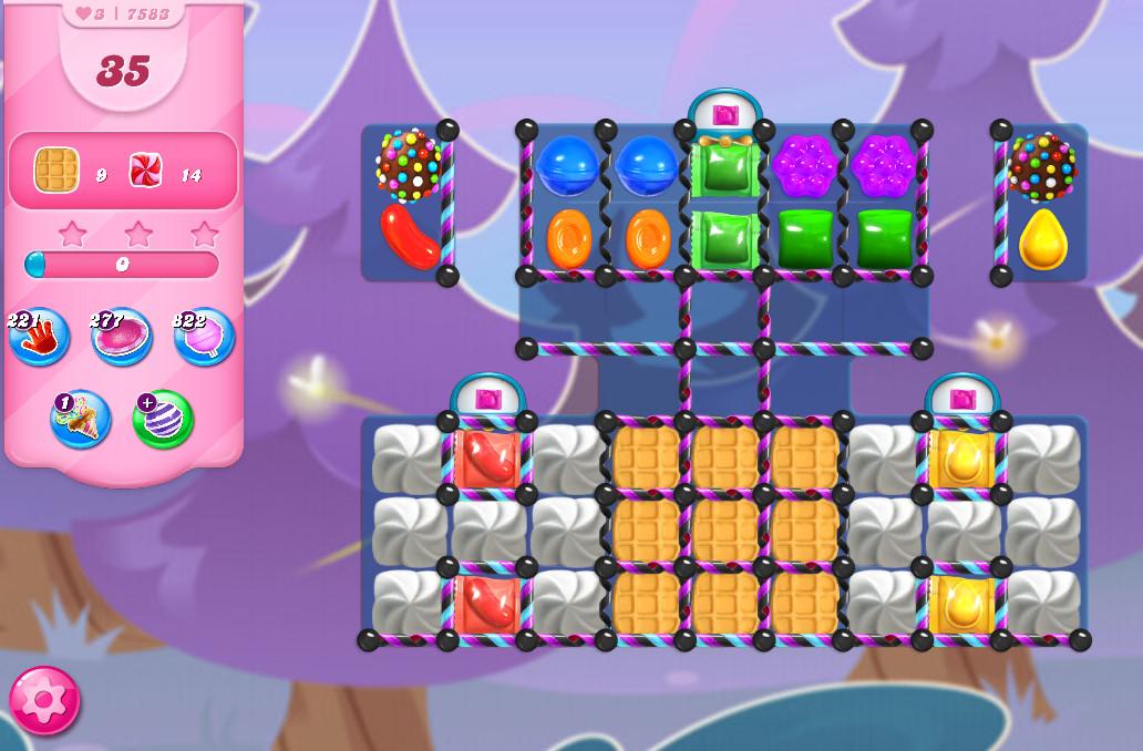 Candy Crush Saga level 7583