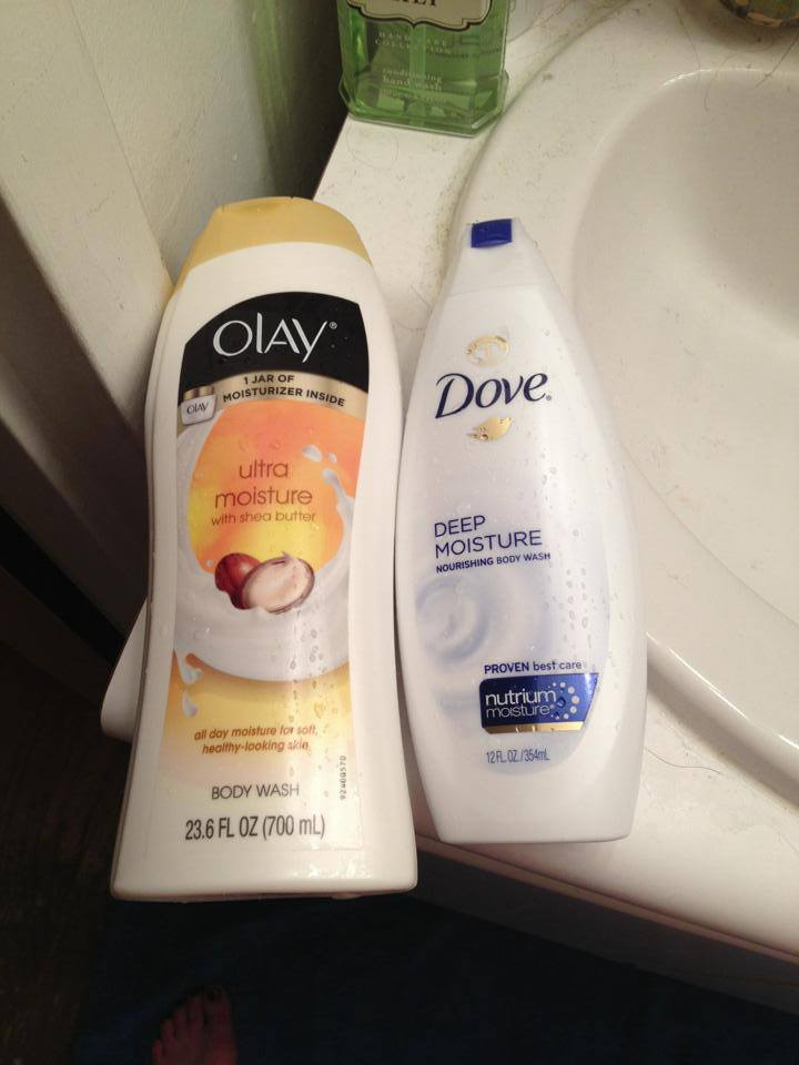 The Beauty Of Life Sponsored Post The Olay And Dove Body Wash Challenge