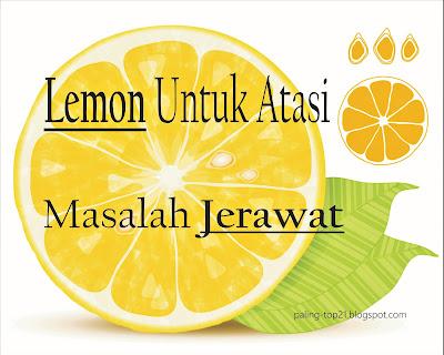 Lemon Untuk Atasi Jerawat