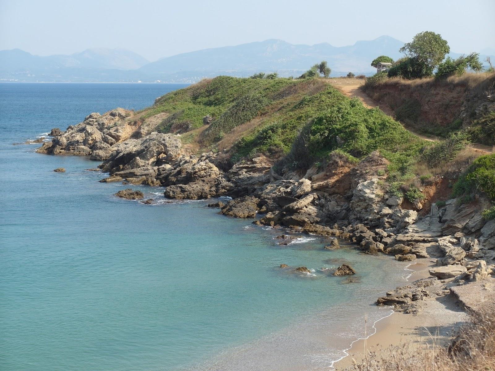 Pláž Mytikas Řecko