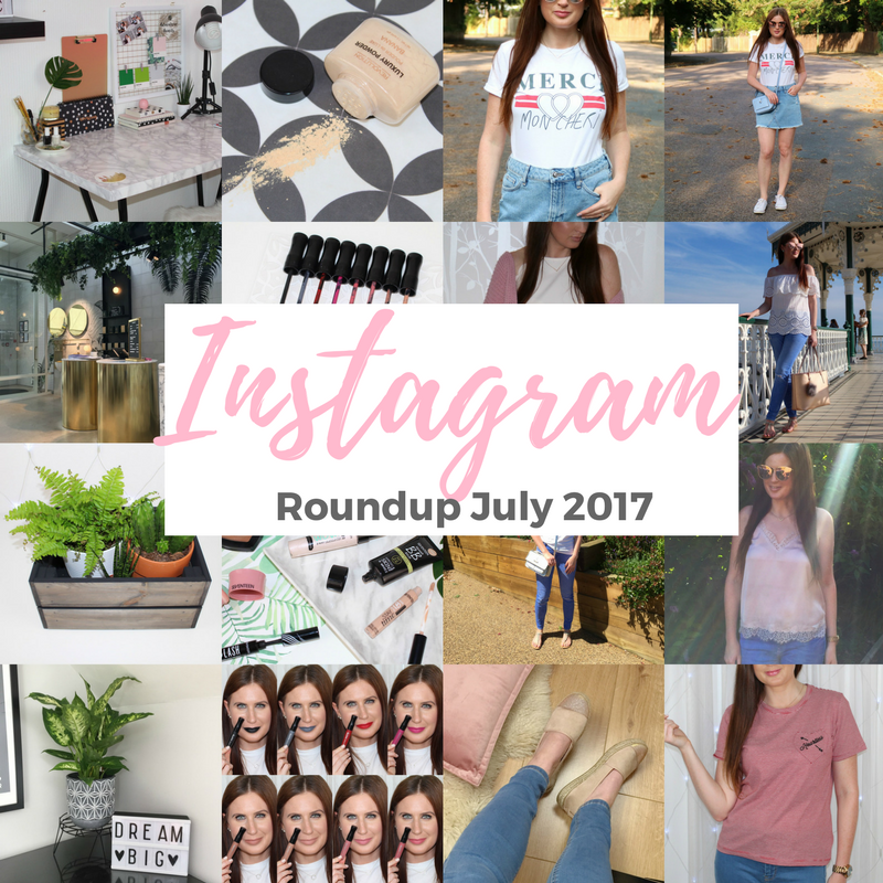 Instagram Beauty, Fashion and Lifestyle Roundup July 2017