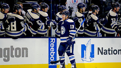 NHL : Blue Jackets Look to Tie NHL Record