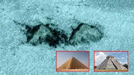 Hallan dos antiguas pirámides en el fondo del océano frente a la costa de las Bahamas