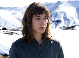 La actriz Ruth Díaz en Argentina en el rodaje de la película 'Aparecidos'