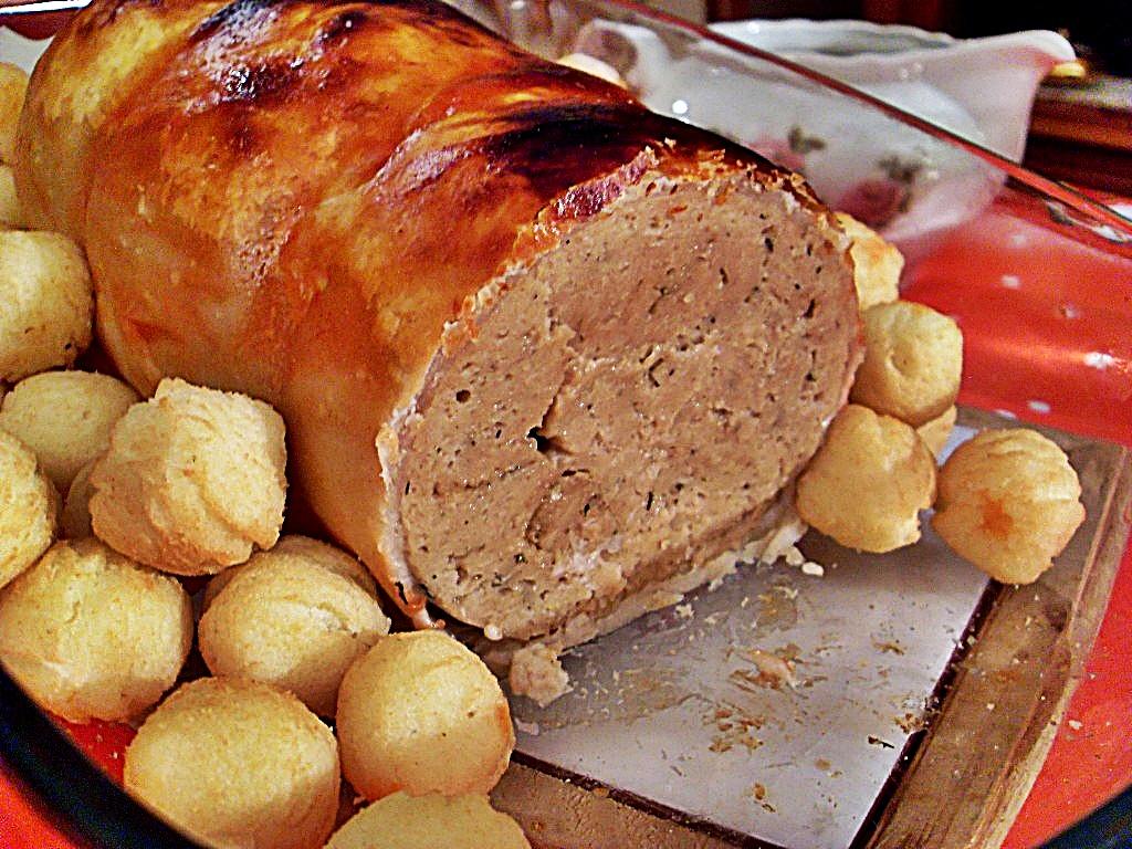 Ma cuisine v g talienne r ti de dinde vegan - Repas de noel vegetarien marmiton ...