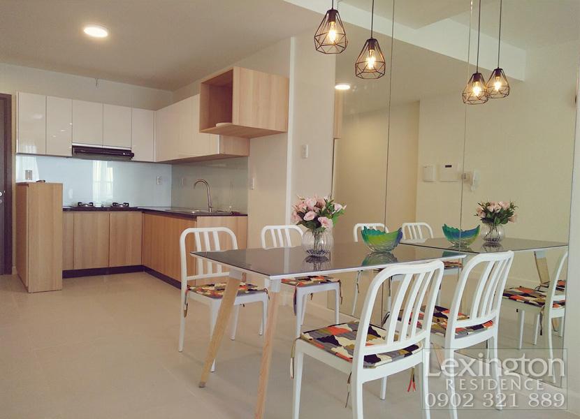 Cho thuê căn hộ Lexington Quận 2 diện tích 75m2