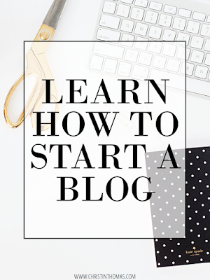 Learn how you can start your very own blog.