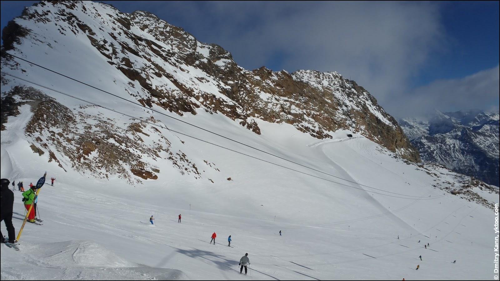 Тифенбахский ледник.