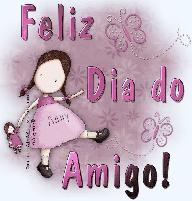 Cantinho Da Sandra Mitiyo: Feliz Dia Do Amigo