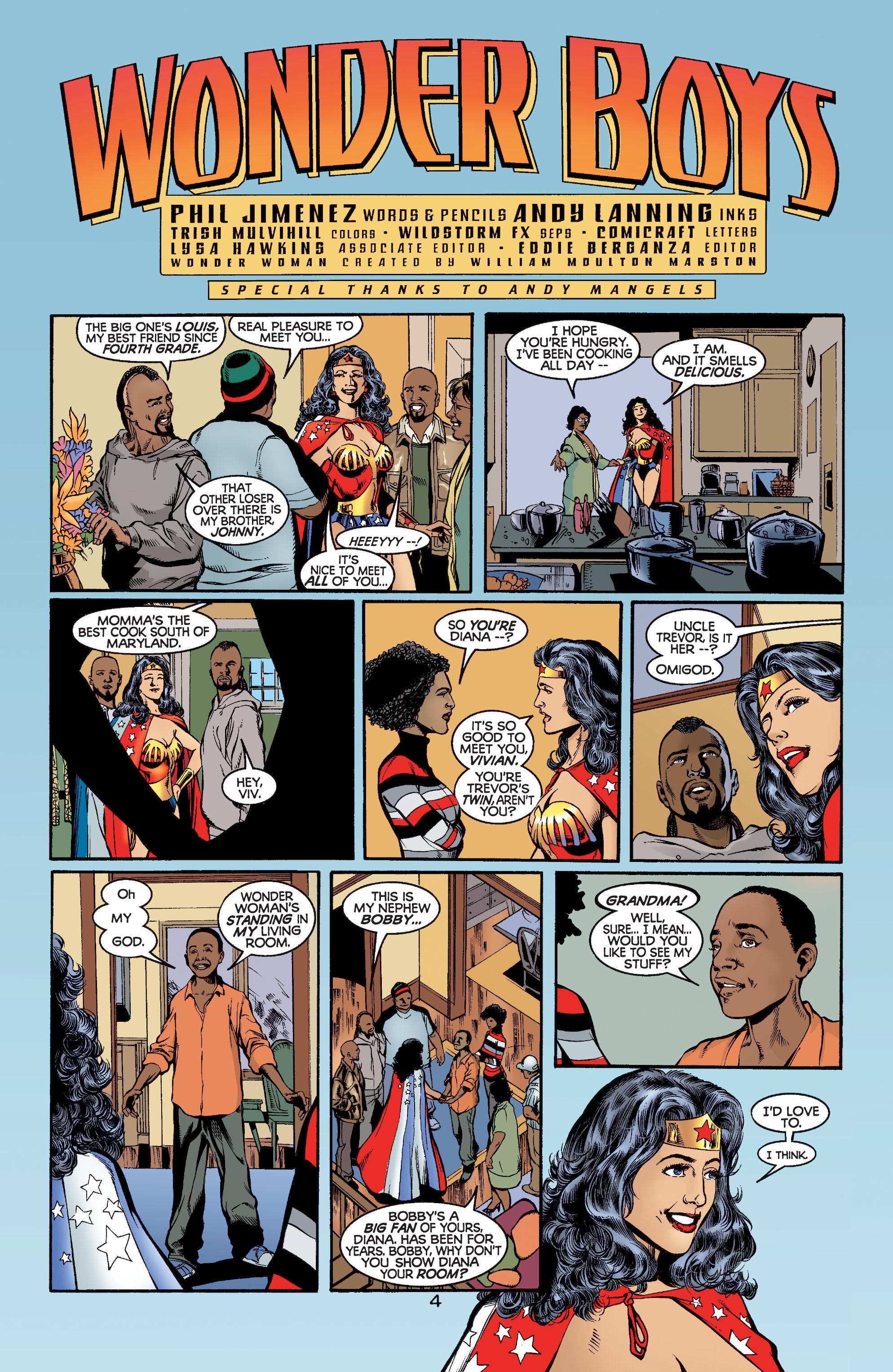 Read online Wonder Woman (1987) comic -  Issue #188 - 5