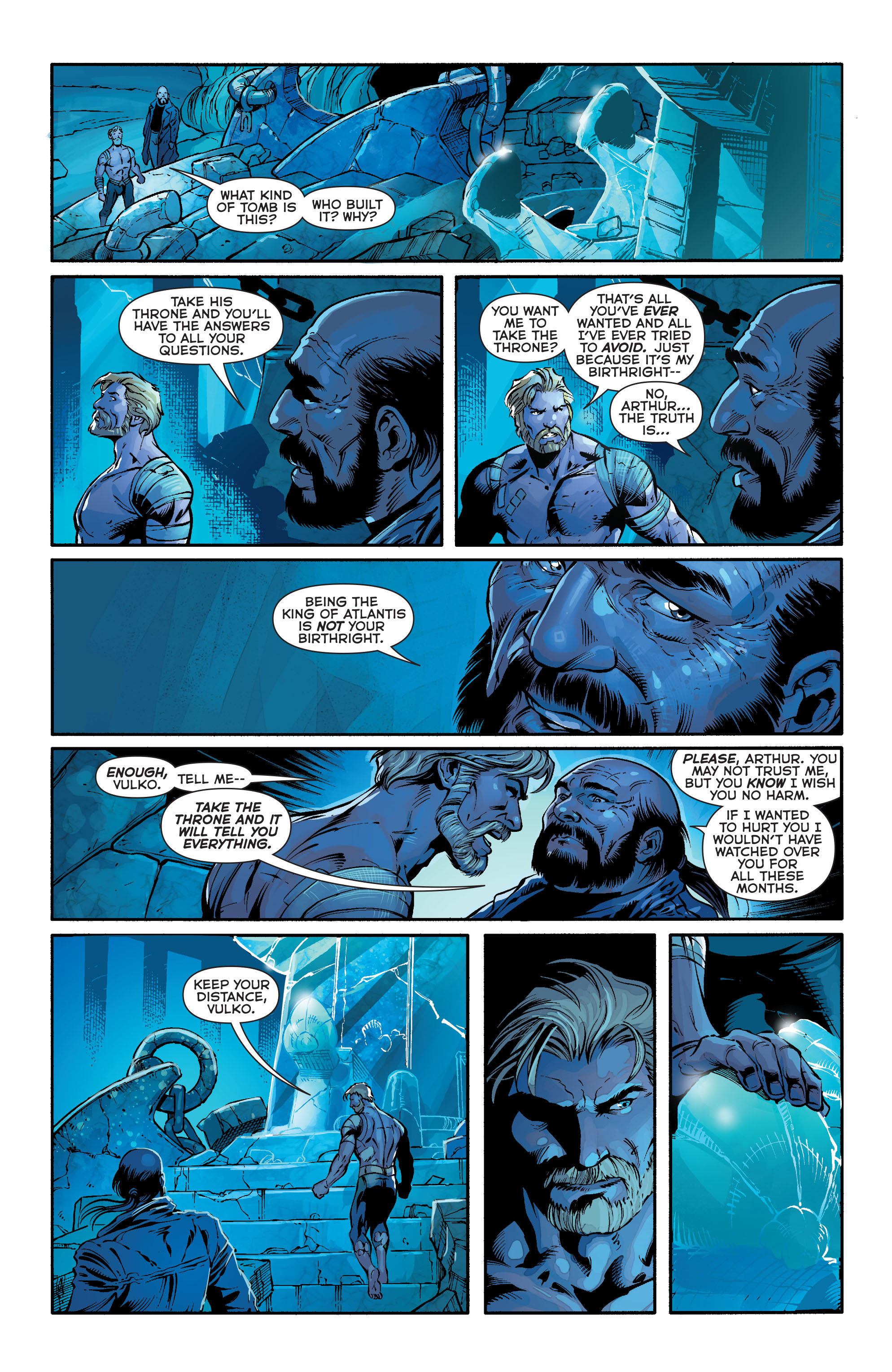Read online Aquaman (2011) comic -  Issue #24 - 8