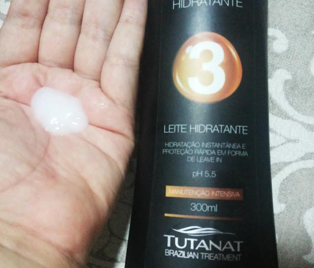 Cabelos hidratados: linha Hidratante da Tutanat