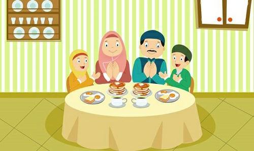 Lafadz Bacaan Doa Sebelum Makan Dan Doa Sesudah Makan Lengkap