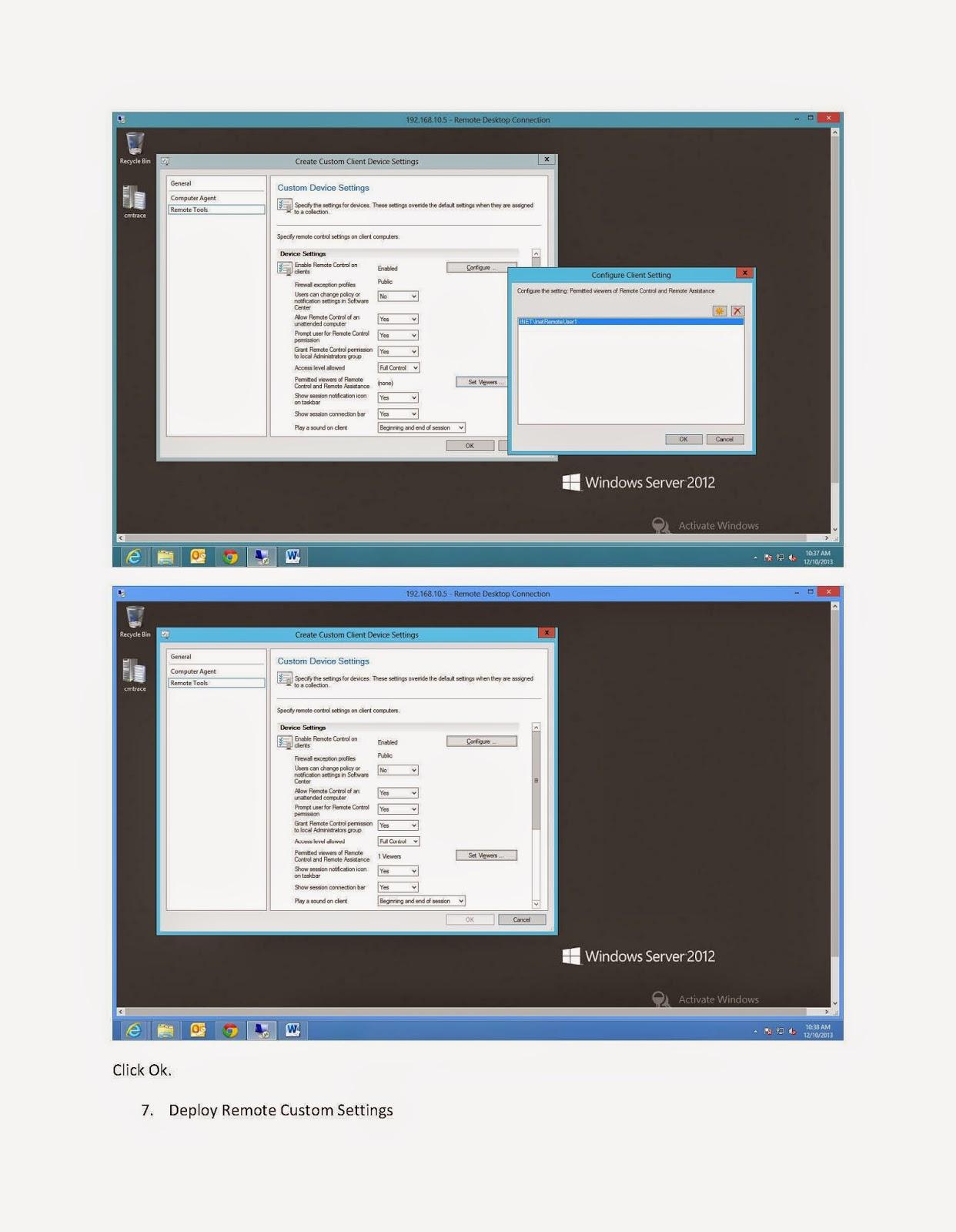 Microsoft Technology Technical Blog: SCCM 2012 - PART 12