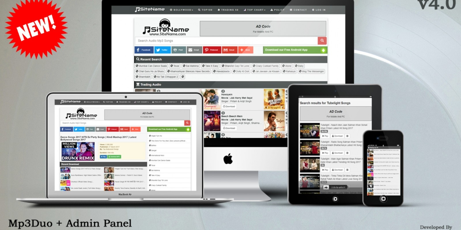 Mp3Duo - Music Search Engine PHP Script   WWW NULL COM NP