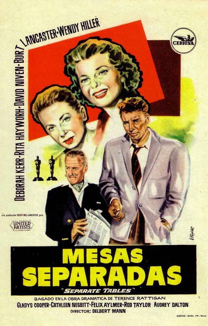 Mesas separadas ( 1958 ) Dual + Subtítulos DescargaCineClasico.Net