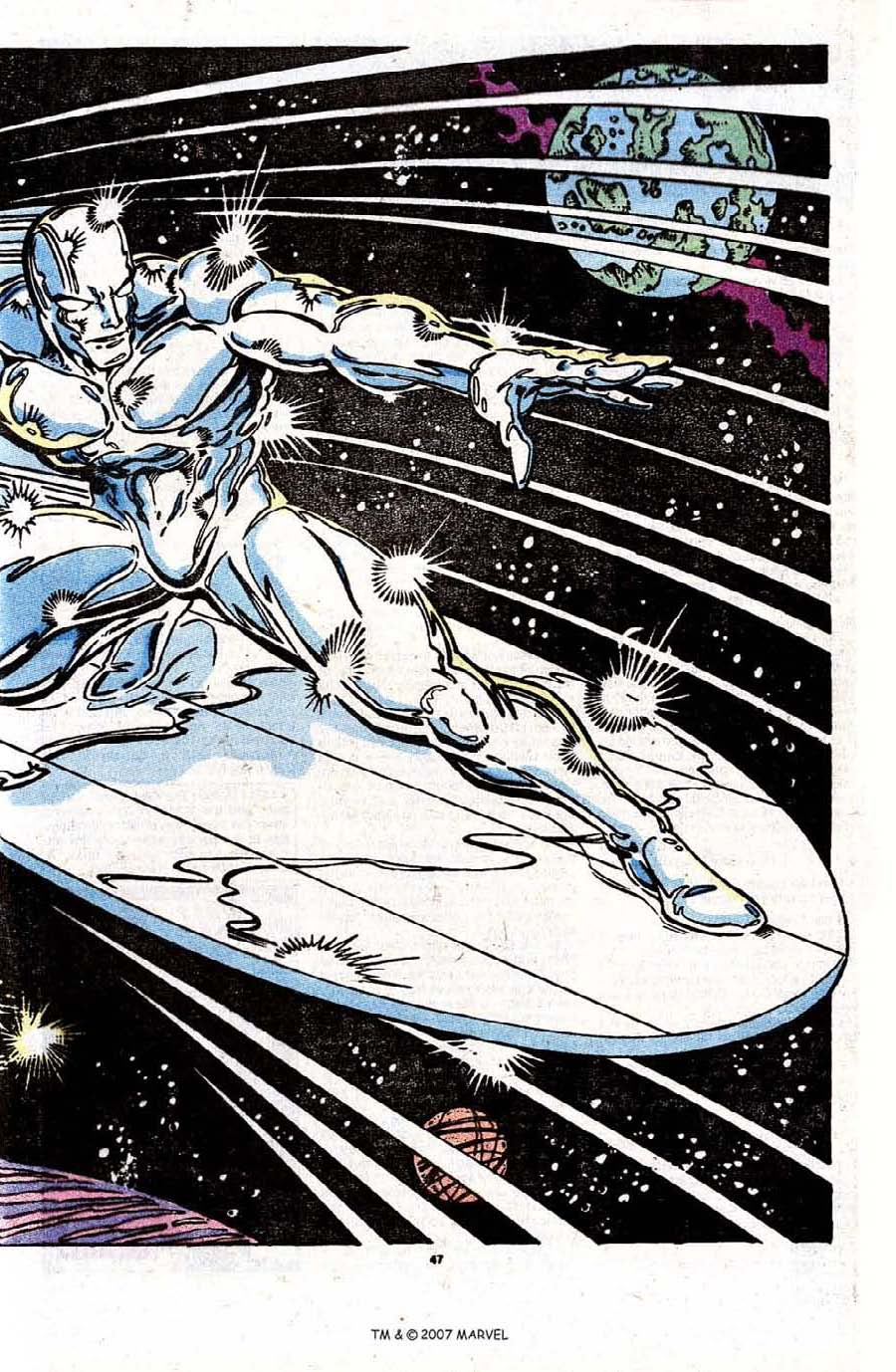 Read online Silver Surfer (1987) comic -  Issue #31 - 49