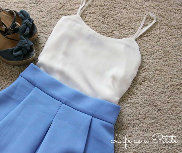 White and Blue Outfit Inspiration - Life as a Petite (Aixin)