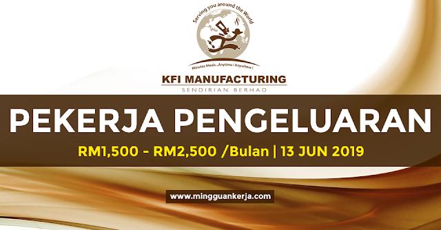 Pekerja Pengeluaran - KFI Manufacturing Sdn Bhd