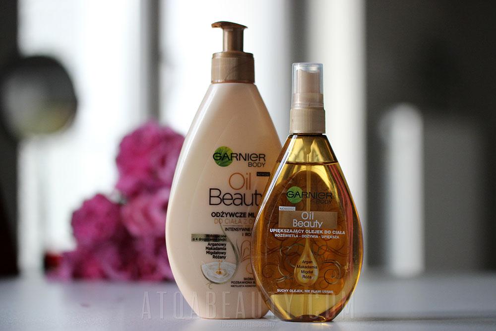 Garnier • Oil Beauty • Olejek i mleczko do ciała