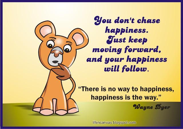chasing happiness cartoon