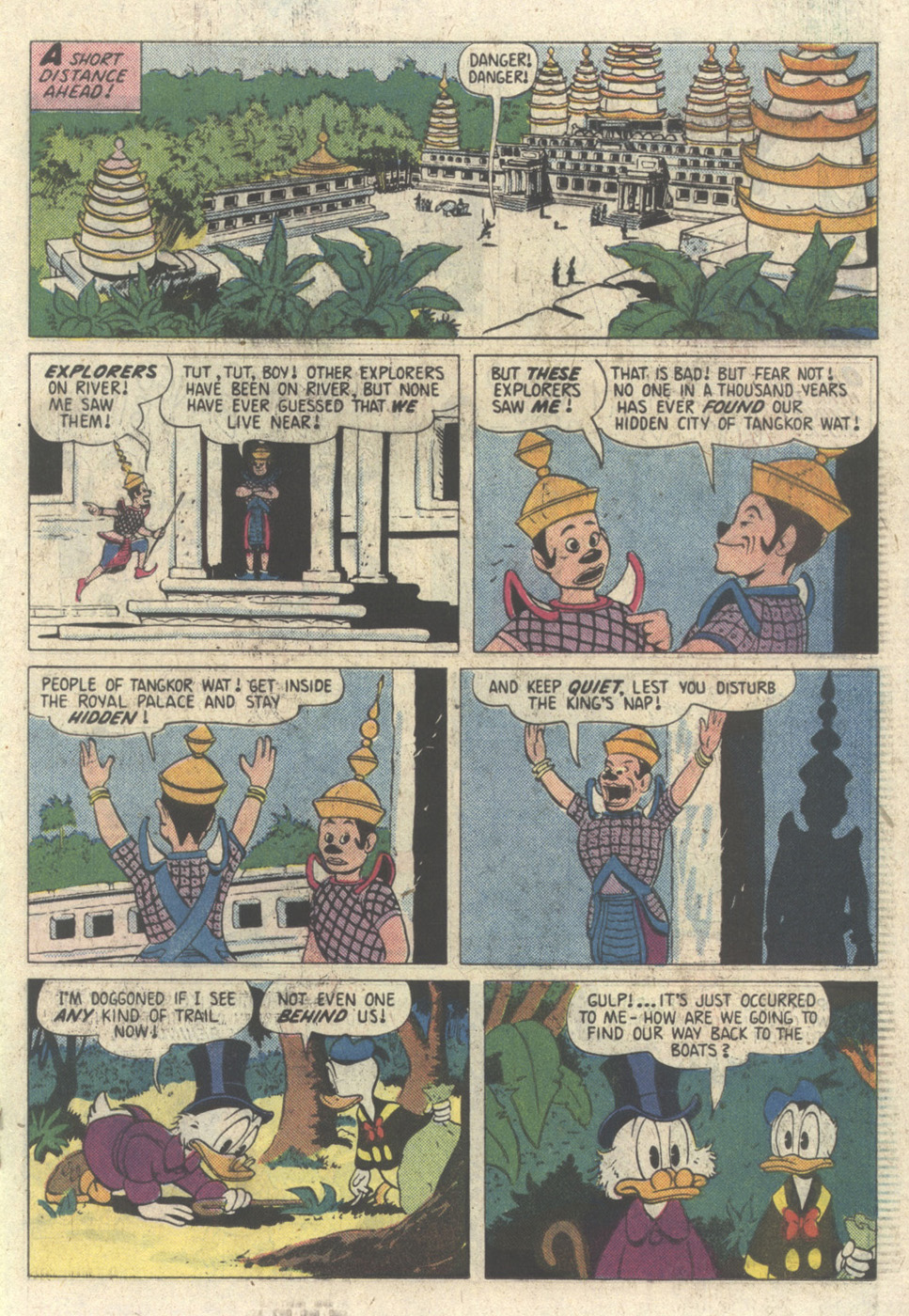 Read online Uncle Scrooge (1953) comic -  Issue #213 - 19
