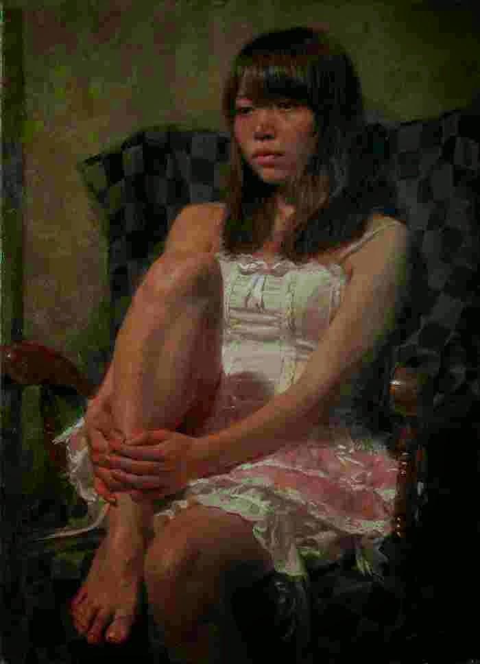 Современная живопись Японии. Misawa Hiroshi