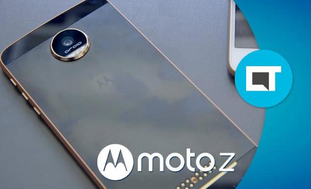 Moto Z Play Smartphone dengan 10x optical zoom camera