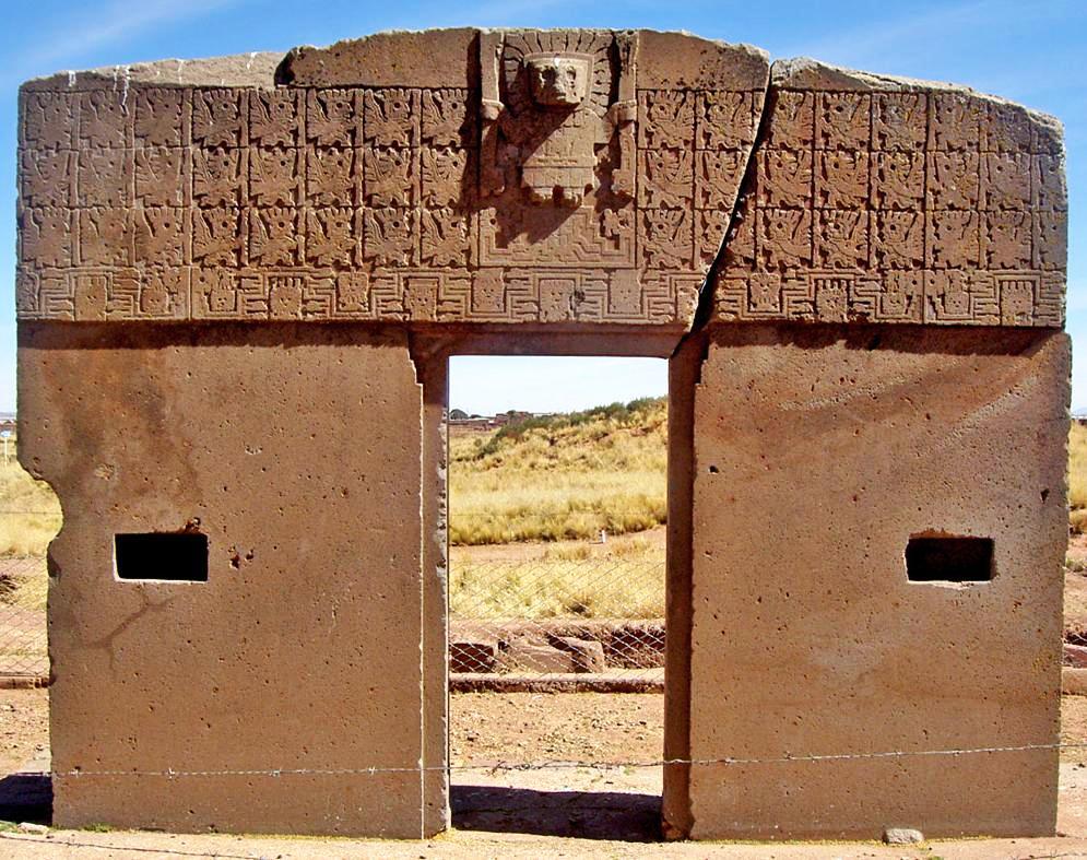 Infov a cultural boliviana complejo arqueol gico de Obras puerta del sol
