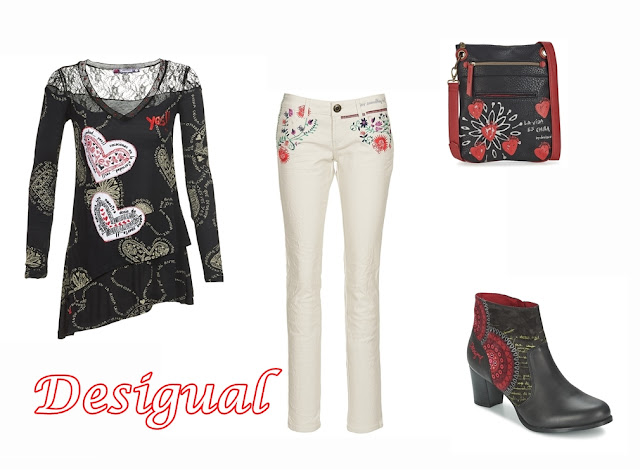 total look desigual spartoo