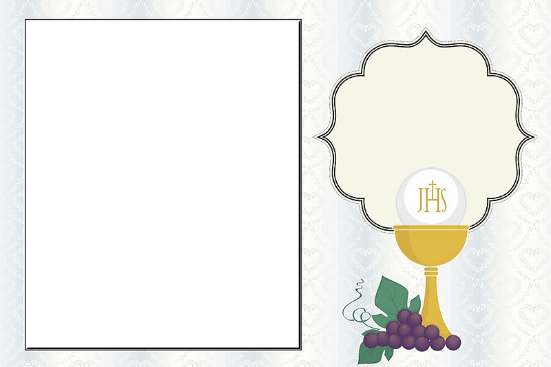 It's just a picture of Printable First Communion Cards in baptism