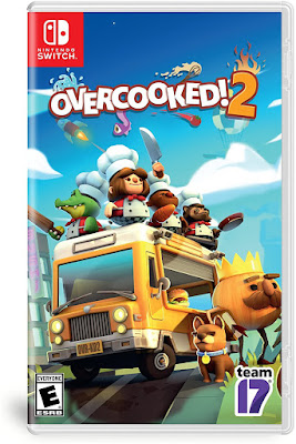 Overcooked 2 Game Cover Nintendo Switch